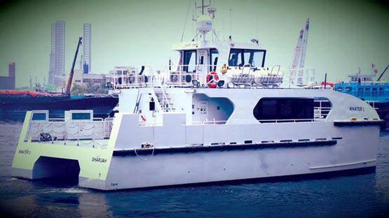 هدیه کشتی برای رفتوآمد اماراتیها به ابوموسی