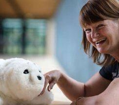 درمان جنون با حیوانات رباتیک!