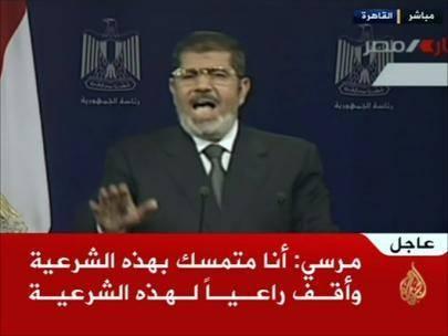 آخرین تحولات مصر: سخنرانی مرسی تاثیری نداشت/ نگاه همه به پایان مهلت ارتش