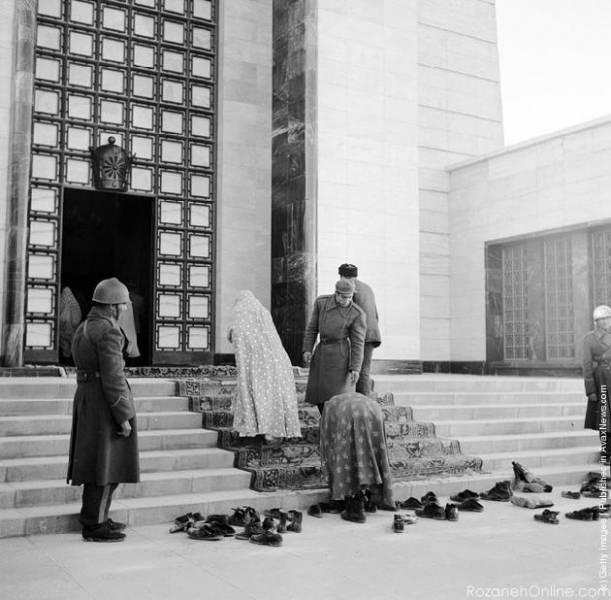عکس/ مقبره رضا شاه قبل از تخریب