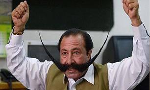 سیبیل دردسرساز یک پاکستانی/عکس