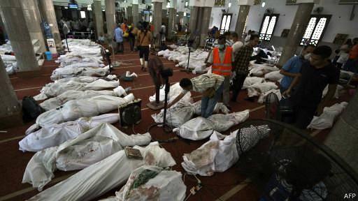 آمار رسمی تلفات خشونتهای مصر از ۵۰۰ نفر گذشت