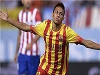 تساوي بارسلونا مقابل اتلتيکو مادريد با گل نيمار
