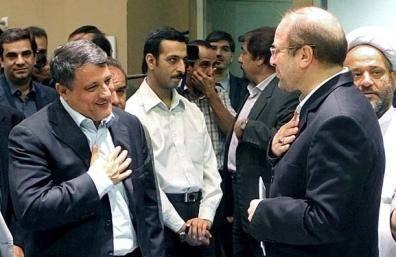 """محمدباقر قالیباف یا محسن هاشمی ؛ کدام یک به """"بهشت"""" می رود؟"""