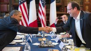 حمایت دولت فرانسه از حمله به سوریه با وجود مخالفت افکار عمومی