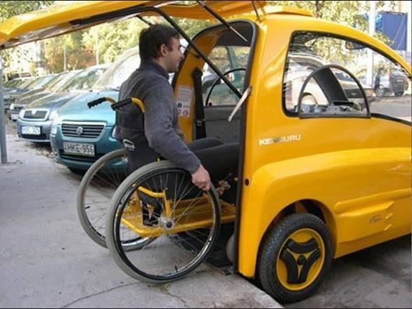 اتومبیل مخصوص معلولین+عکس