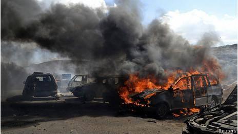 انفجار خودروی بمبگذاری شده در منطقه مرزی ترکیه-سوریه