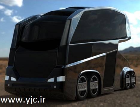 اتوبوسی اسپرت با طراحی ایرانی +عکس