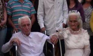 برگزاری مراسم عروسی 80 سال بعد از ازدواج