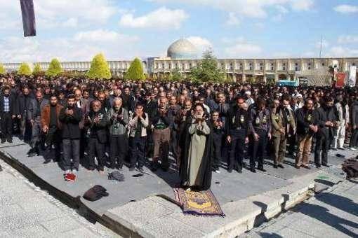 نماز ظهر عاشورا در سراسر ایران اسلامی