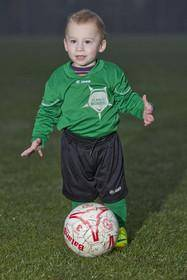 قرارداد حرفهای فوتبال با کودک 20 ماهه! (+عکس)