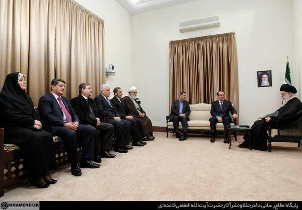 رهبری در دیدار نخست وزیر عراق: هیچ مانعی در پیشبرد روابط با بغداد وجود ندارد (+عکس)