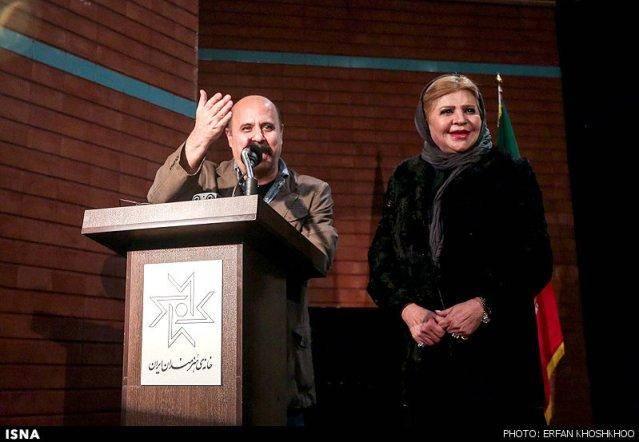 بزرگداشت علی حاتمی در خانه هنرمندان (عکس)