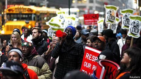 اعتصاب گسترده کارگران آمریکایی برای افزایش حداقل دستمزد