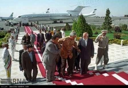 دیدارهای نلسون ماندلا در تهران (عکس)