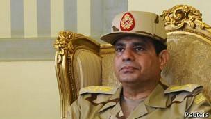 ارتش مصر از نامزدی عبدالفتاح سیسی برای پست ریاست جمهوری 'حمایت کرد'