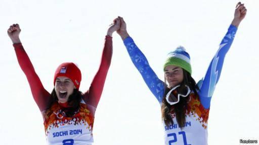 اولین مدال طلای مشترک تاریخ المپیک