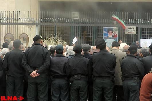 تجمع کارگران و بازنشستگان در برابر مجلس اخبار روز