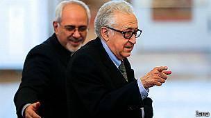 سفر اخضر ابراهیمی به تهران برای گفتگو در باره بحران سوریه