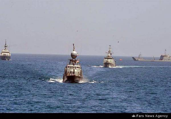 درخشش «شمشیر» ایرانی در دریای عمان