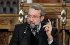 لاریجانی: دموکراسی با جنگ ایجاد نمیشود