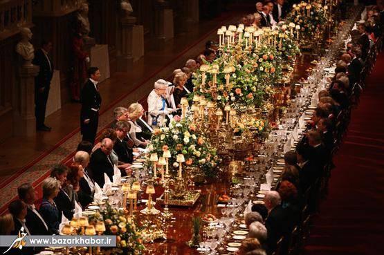 میز شام ملکه/عکس