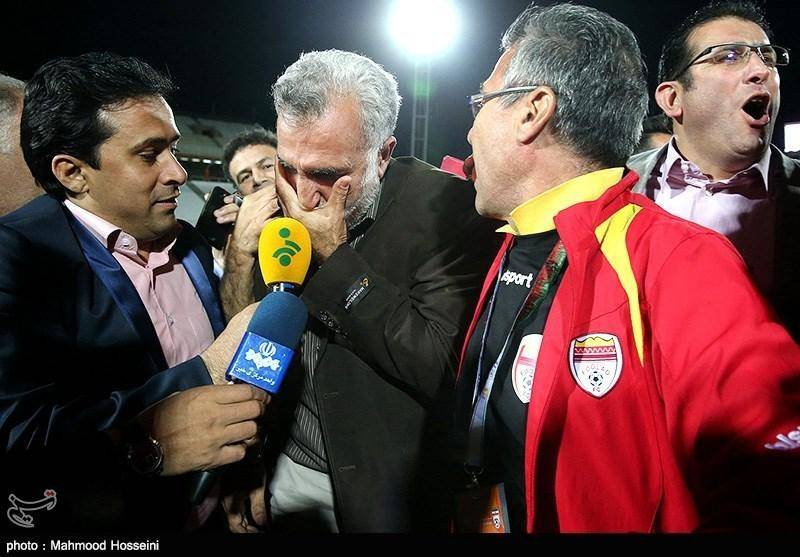 جشن قهرمانی تیم فولاد خوزستان / تصاویر