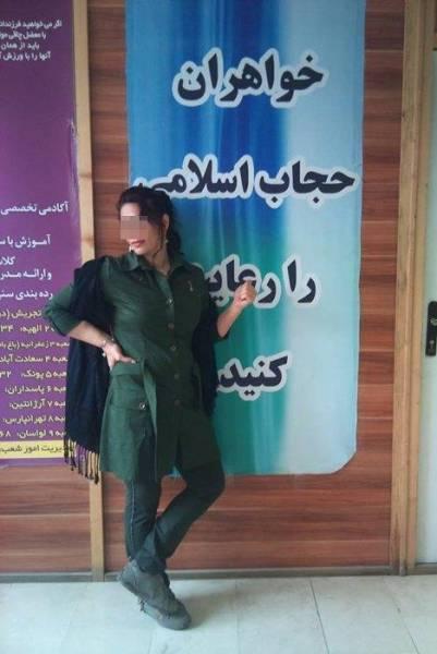 آزادی های یواشکی زنان در ایران! (تصویر)