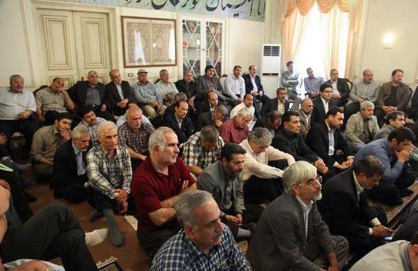 گزارش تصویری دیدار خاتمی با فرماندهان دفاع مقدس و فرزندان شهدا در سالروز آزادسازی خرمشهر