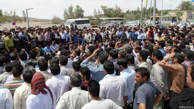 اعتصاب کارگران شرکت معدنی بافق یزد وارد بیستمین روز شد