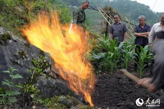 روستایی بر روی آتش/تصاویر