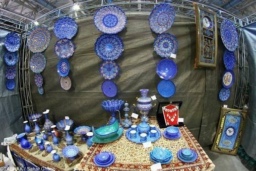 افتتاح نمایشگاه بین المللی صنایع دستی