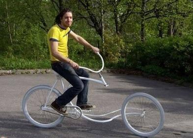دوچرخه عجیب و غریب/عکس