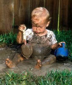 گلبازی برای سلامت کودکان خوب است