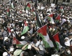 تظاهرات اعتراضی فلسطینیان در کرانه باختری همزمان با روز قدس/ شهادت ۳ فلسطینی در کرانه باختری