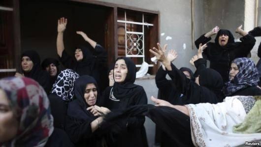 سازمان ملل میگوید که اسرائیل با وجود هشدارهای مکرر این سازمان (۱۷ بار) مبنی بر پناه گرفتن غیرنظامیان فلسطینی در یکی از مدارس تحت نظر سازمان ملل در غزه، به این مدرسه حمله کرده است