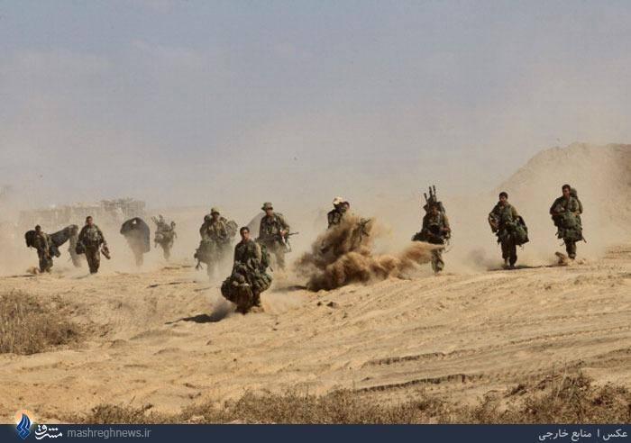 تصاویر/ عقب نشینی ارتش اسرائیل از غزه