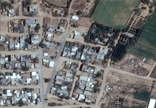 غزه قبل و بعد از حمله اسرائیل/تصاویر