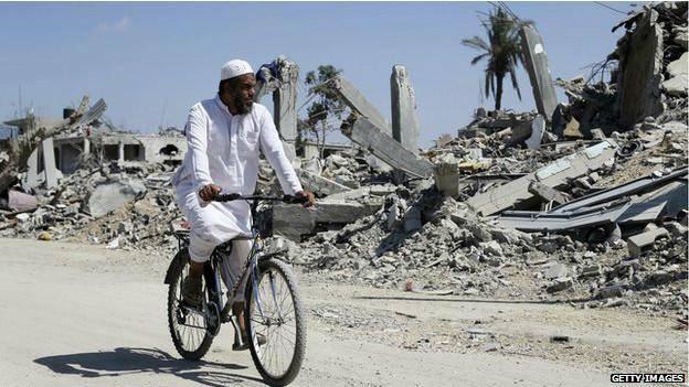 بی بی سی آگهی کمک به مردم غزه را پخش میکند