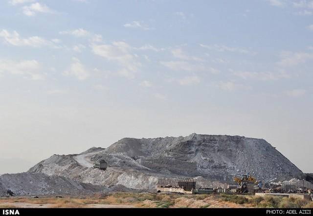 مرگ تالاب میقان - اراک (عکس)