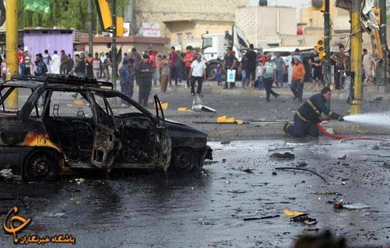 پراید، خودروی انتحاری تروریستها/عکس
