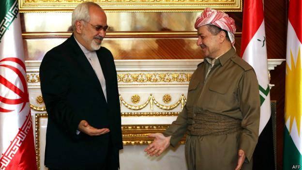 بارزانی: ایران برای پیشمرگهای کرد سلاح فرستاد