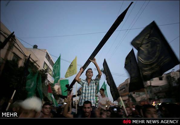 تصاویر / جشن پیروزی مقاومت 51 روزه غزه