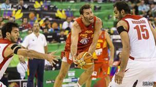 شکست تیم بسکتبال ایران مقابل میزبان جام جهانی