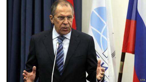 روسیه خواستار آتشبس فوری در شرق اوکراین شد
