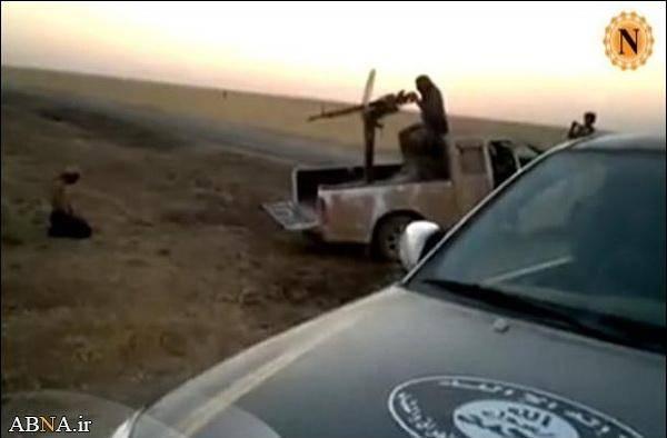 وحشیانهترین شیوه اعدام داعش/عکس