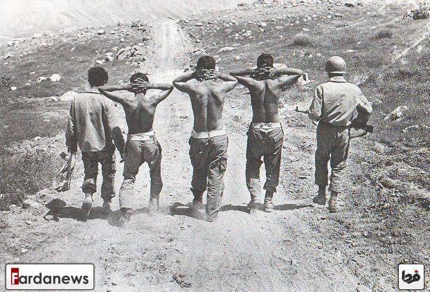 چند اسیر عراقی دوران دفاع مقدس/عکس