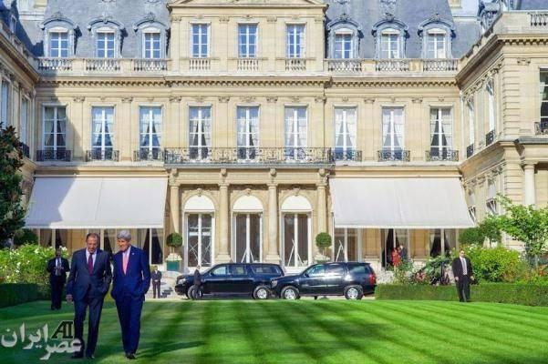 مذاکرات خصوصی وزیران خارجه امریکا و روسیه در باغ (عکس)
