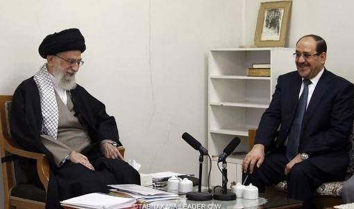 دیدار نوری المالکی با رهبر معظم انقلاب