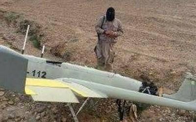 عکس یادگاری داعش با پهپاد ایرانی!